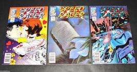 3 1989 NOW Comics SPEED RACER #21, 22, 23 F-VF Suzanne Dechnik Art - $11.69