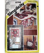 Kitchen Accessories Set Simplicity 6144 Pot Holders Oven Mitts Casserole... - $11.00