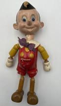 Ideal Novelty Toy Co. Jointed Wood Doll Walt Disney Vintage Original Wooden 1707 - £41.41 GBP