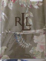 RALPH LAUREN Boathouse Floral 3PC KING FITTED SHEET /2 KING PILLOWCASE N... - $169.66