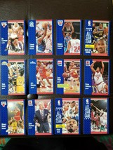 Fleer Basketball 1991 12 Card Lot W Stars Karl Malone Spud Webb Kevin Johnson - $16.76