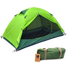 Weanas 2 Person 3 Season Ultralight Silicone Coating Backpacking Tent Double Lay - $102.27