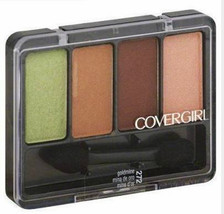 Covergirl Eye Shadow Quad Goldmine, green neutral full size 272, satin - $6.99