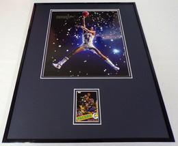 Reggie Miller 16x20 Framed Topps Archives Forgotten Rookie Card & Photo Set - $74.44