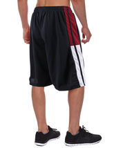Men's Athletic Mesh Workout Fitness Training Basketball Sports Gym Shorts image 5