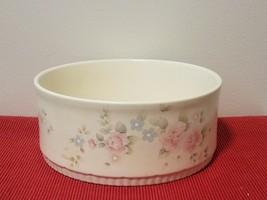 "Vintage Pfaltzgraff Tea Rose Stoneware Large Serving Bowl, 8.75"" Diameter - $18.70"