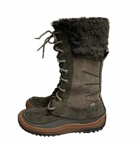 Merrell Falcon Boots Lace Up 200 gram Insulation Brown Suede Size 6.5 Womens - $55.19