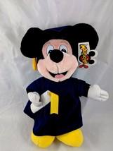 "Disney Mickey Mouse Plush Graduate Graduation 13"" Stuffed Animal toy - $8.05"