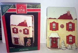 """1992 HALLMARK ORNAMENT DISPLAY """"THE NIGHT BEFORE CHRISTMAS"""" HOUSE ONLY - $10.88"""