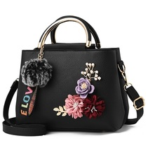 NEW color flowers shell Women's tote Leather Clutch Bag Ladies Handbags - $60.00