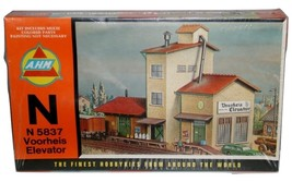 """AHM """"N"""" 5837 Voorheis Elevator NIB Fine Hobby Kit"""