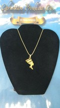 Women Fashion Jewelry Gold Plated Queen Nefertiti Necklace - $9.90