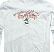 Teen Wolf T-shirt Retro Classic Werewolf movie graphic long sleeve tee MGM274 image 3