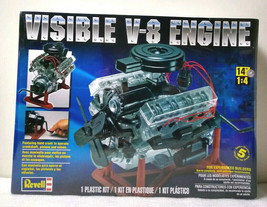 Revell Visible V-8 Engine - Plastic Model Engine Kit 1/4 Scale #858883 N... - $64.99