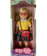 """My Life As 18"""" Poseable Foreign Language Tutor Doll Blonde Hair Ponytail... - $28.99"""