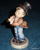 """Serenade"" Goebel Hummel Figurine #85/0 TMK3 Boy Playing Flute - Cute Gift! - $82.44"