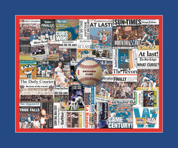 Chicago Cubs 2016 World Series Newspaper Collage Print Art-Front Page He... - $19.99+