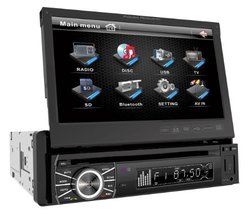 Power Acoustik PTID-8920B In-Dash DVD AM/FM Receiver with 7-Inch Flip-Out Touchs - $352.00