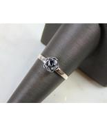Womens Vintage Estate Sterling Silver Rose Ring 1.5g E5125 - $24.75