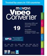 Movavi Video Converter Personal 19 Convert video DVD WMV AVI MPEG MPG fo... - $24.00