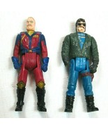 Vintage 1985 MASK Action Figures Buzzard Miles Mayhem & Sly Rax, Kenner / CPG  - $12.99