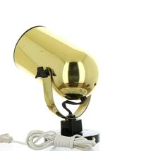 Vintage 1980s Gold Tone Juno Track Can Accent Spot Light image 4