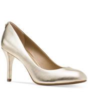 MICHAEL Michael Kors MK Flex Mid Almond-Toe Pumps Pale Gold - $79.99