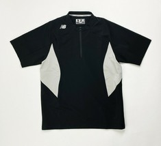 New Balance Short Sleeve Ace Baseball 1/4 Zip Top Jacket Men's Medium TM... - $39.59