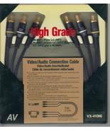 High Grade Video / Audio Connection Cable - AV - VX-410HG - 1m / 3.25' -... - $4.89