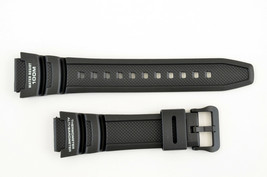 Genuine Black SGW-300H SGW-400H ALTIMETER BAROMETER  Watch Band Strap C... - $18.45