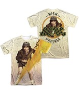 AC/DC High Voltage Angus Album Record Cover Allover Sublimation T-shirt ... - £26.63 GBP+