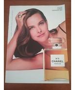 Vintage 1993 Chanel No 5 Gourmet Magazine Ad - $8.95