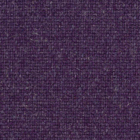 1.375 yds Camira Upholstery Fabric Main Line Flax Highgate Purple Wool MLF33 PZ