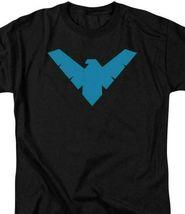 DC Comics Batman Logo T-shirt Retro Comics Justice League Graphic Tee BM2182 image 3