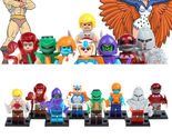 He-Man and the Masters of the Universe Set #1 Lot 8 pcs Figures - £15.12 GBP