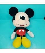 "Disney Mickey Mouse Plush Big Head Stuffed Animal Large 17"" Soft Pillow ... - $21.77"