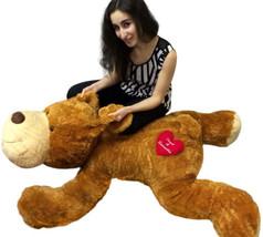 Personalized Giant Stuffed Dog 5 Feet Long Soft and Romantic, 2 Customiz... - $199.99