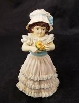 Maud Humphrey Bogart Spring's Child Figurine 3987/24500 Girl Flower 4.25... - $19.34