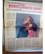 The Denver Post Newspaper 3 issues of Bonus Section 1966 - $13.49