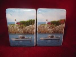 Jack Williams Lighthouse Square Salt & Pepper Shakers - $7.66