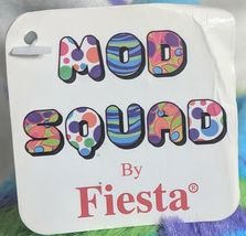 Fiesta A49886 Mod Squad 18 inch Multi Colored Waves Cuddle Giraffe image 7