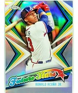 """ROY """"FUTURE STARS"""" RONALD ACUNA JR ROOKIE REFRACTOR 2019 TOPPS CHROME #F... - $119.95"""