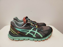 Asics Gel-Scram 2 Running Shoe Sneakers Gray And Blue For Women US Size 8 - $18.70