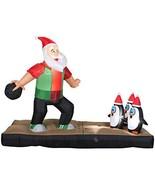 Inflatable 10.5 ft. Santa Bowling Scene - $119.95