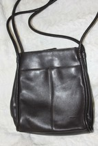 Dark Brown Smooth Leather NINE WEST Shoulder Bag - Appears Unused - $19.80