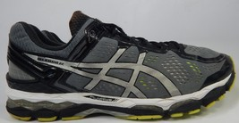 Asics Gel Kayano 22 Sz: US 14 M (D) EU 49 Men's Running Shoes Silver Black T547N