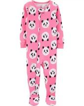 Carter's Baby Girls' 1-Piece Snug Fit Cotton Pajamas (2T, Pink/Panda) - $19.06