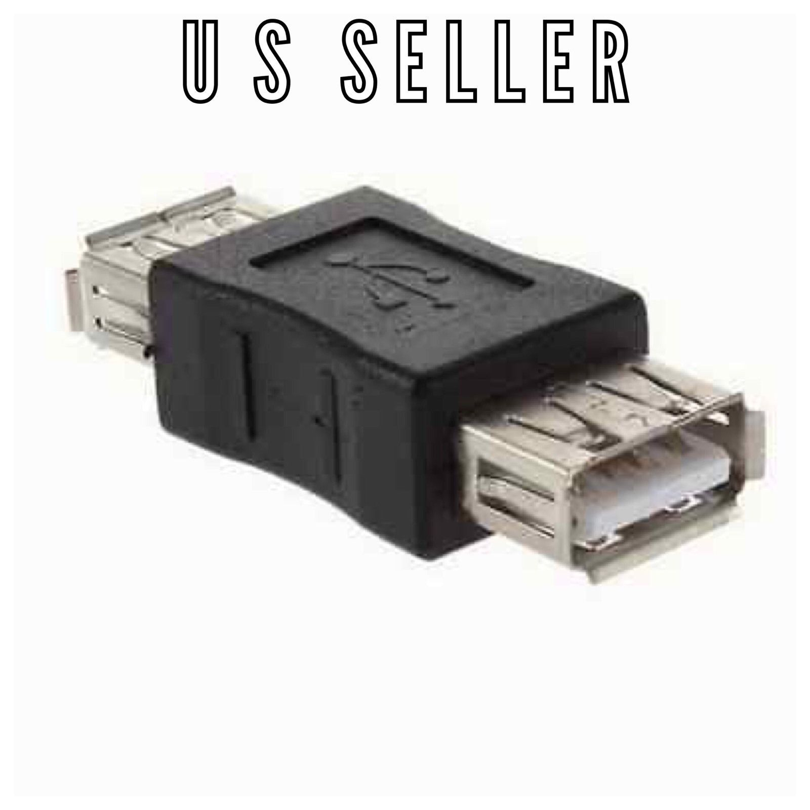 Standard USB 2.0 Type A Female to Female Extension Coupler Adapter Converter A5