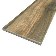 6x24 Marina Walnut Porcelain Plank Wood Look Field Tile Floor Sold by Piece image 6
