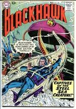 Blackhawk #130 1958 Dc Steel Sea Creature Killer Shark! Vg - $31.53